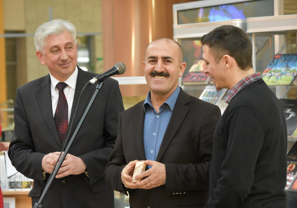 The National Library of Belarus Accepts Gifts from the National Library of Turkey