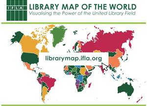 IFLA Library Map of the World – more than 2 million libraries counted!