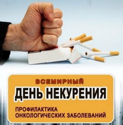 World No Tobacco Day. Cancer Prevention