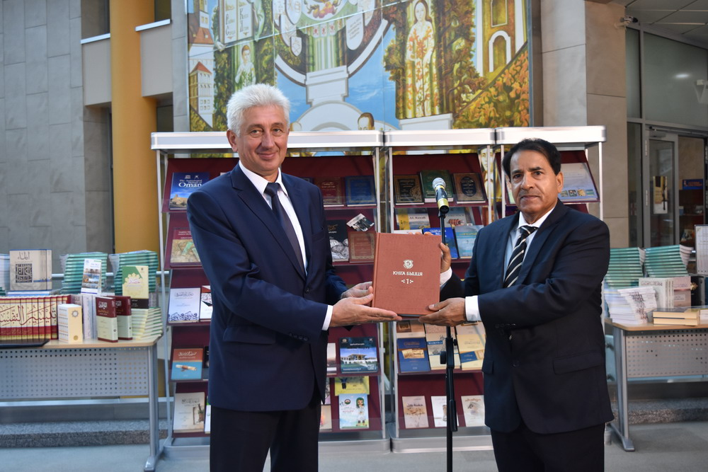 All about Oman: 500 New Publications Donated to the Library