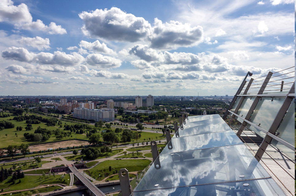 Enjoy a Bird's-Eye View of Minsk on the Observation Deck