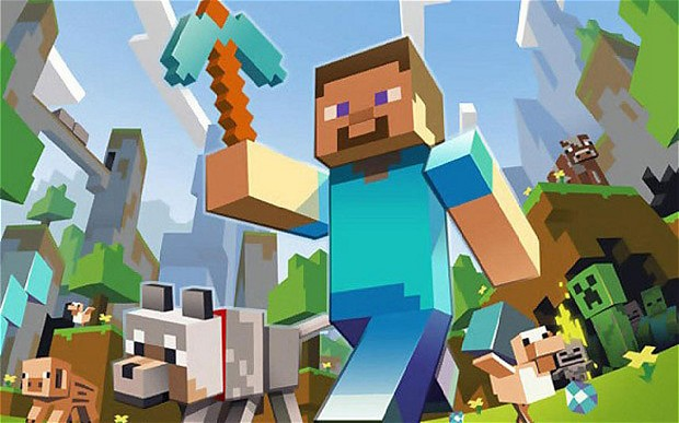 Minecraft is as much a literary craze as a gaming one