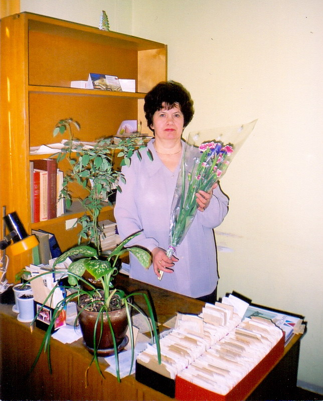 50 years ago Ms Ekaterina Voronko Started Her Professional Career in the Library