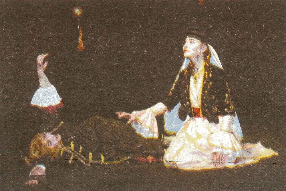 "Scenes from the play ""Salome"""