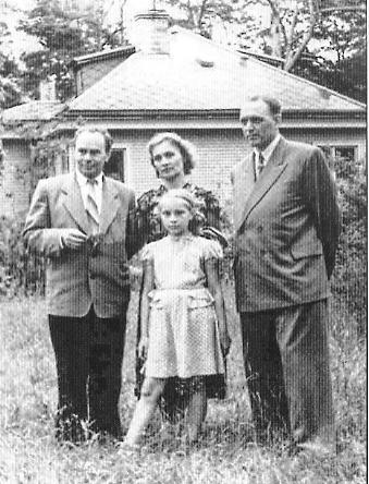 Ян Скрыган на адпачынку з жонкай Ганнай і дачкой Галінай