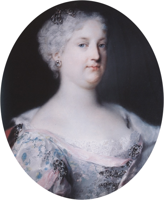 Elisabeth Christine of Brunswick-Wolfenbüttel (1691–1750), Empress of the Holy Roman Empire by R. Carriera